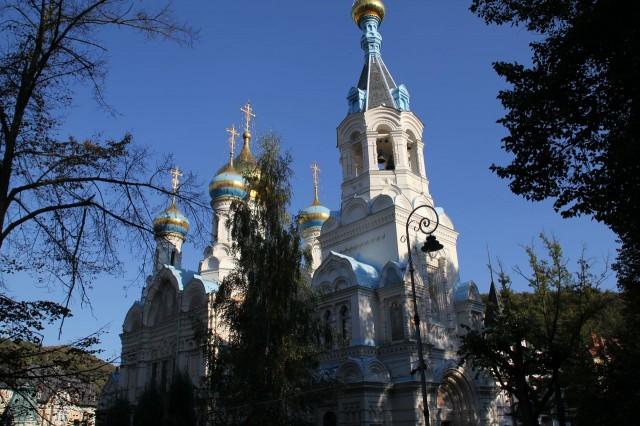 Православная церковь св. Петра и Павла (pravoslavný kostel sv. Petra a Pavla)