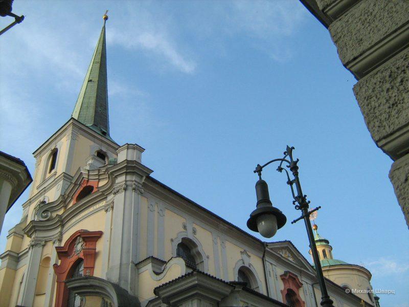 Церковь св. Томаша (Kostel svatého Tomáše)