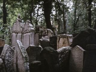 Пражское еврейское кладбище.