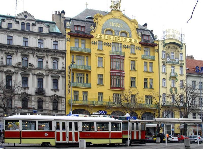 Гостиница Европа (Hotel Evropa)