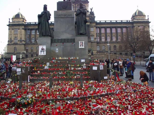 Прогулка по вацлавской площади
