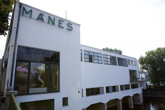 Выставочный зал «Манес» (Výstavní síň Mánes)
