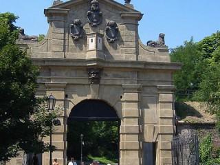 Ворота Леопольда в Вышеграде