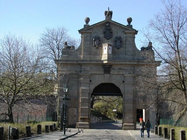 Ворота Леопольда (Leopoldova brána)