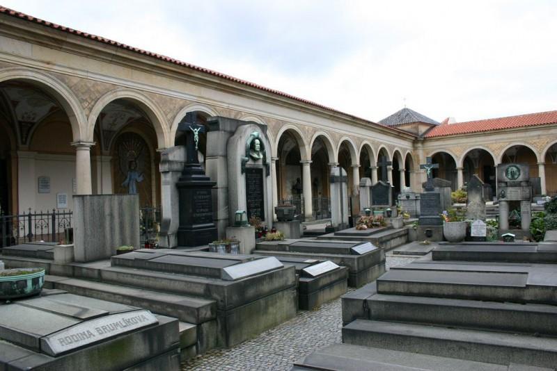 Вышеградское кладбище (Vyšehradský hřbitov)