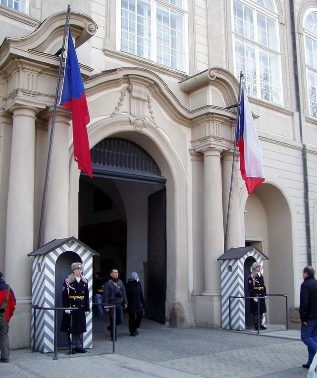 Северные ворота (Severní brána) Пражского града