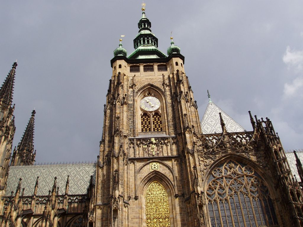 Башни собора св вита