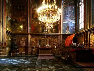 Подземелье собора св. Вита