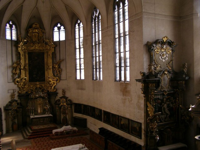 Церковь Всех Святых (kostel Všech svatých)