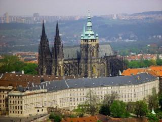 История Пражского града. часть 1