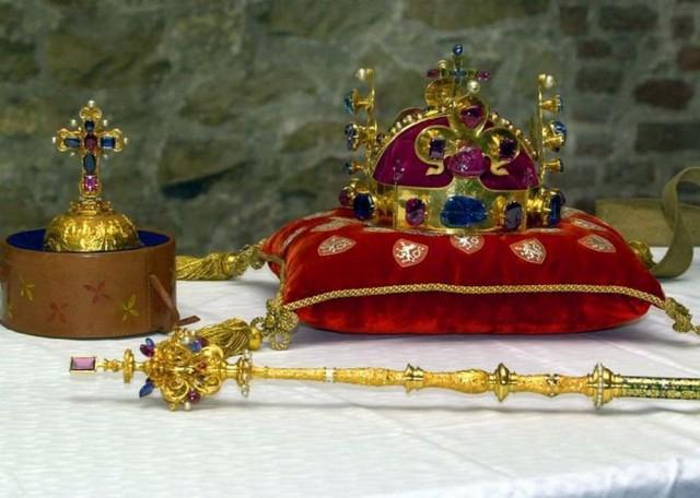 Коронационные регалии чешских королей  (České korunovační klenoty)