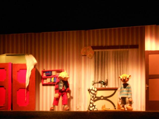 Кукольный театр спейбла и гурвинка