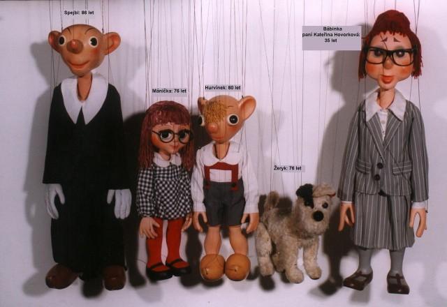 Кукла Гурвинек (Hurvínek)