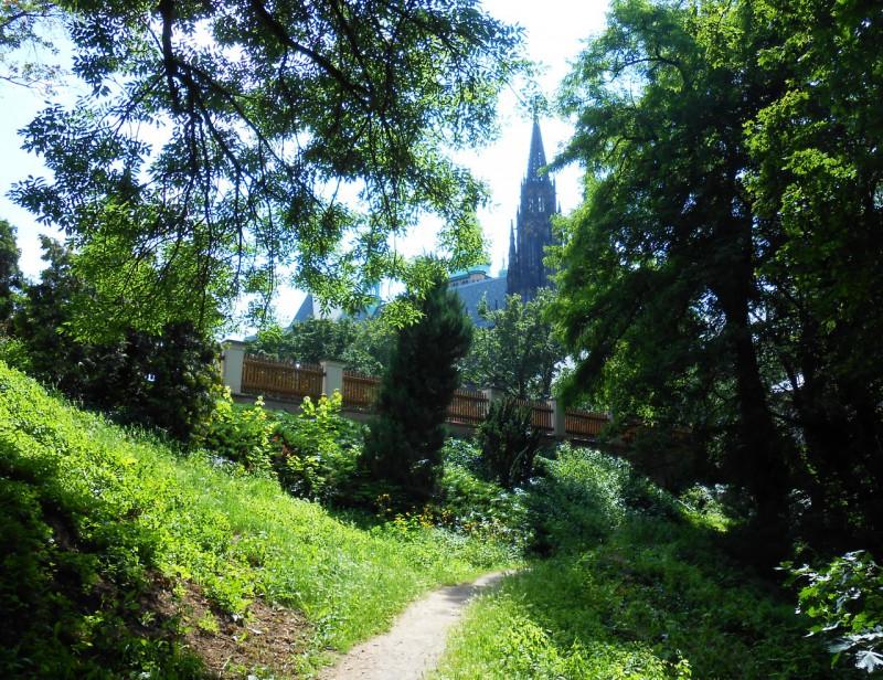 Олений ров - бывшее фортификационное сооружение для защиты Пражского града