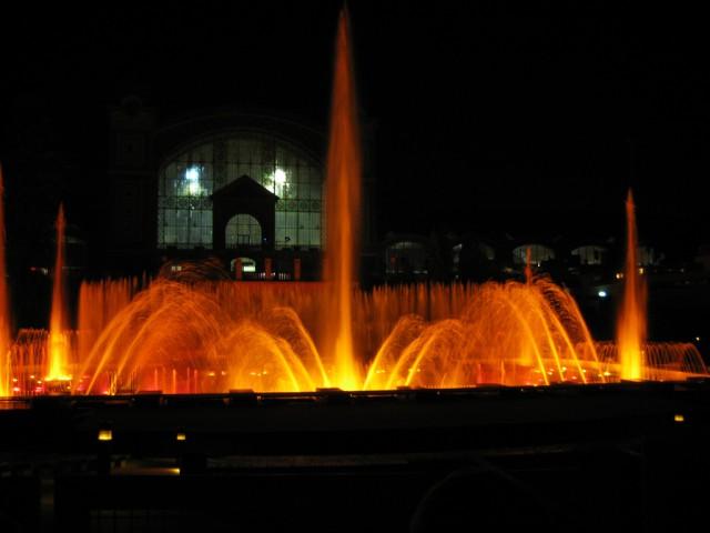 Поющие фонтаны 2