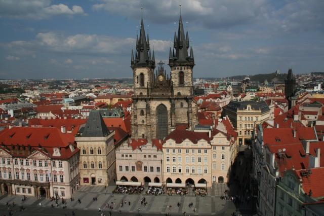 Староместская площадь (Staroměstské náměstí)