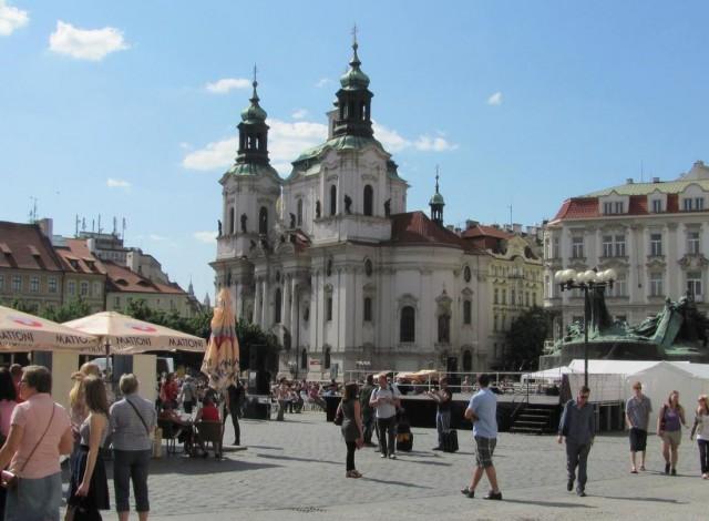 Собор святого Николая на Староместской площади
