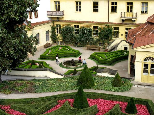 Вртбовский сад (Vrtbovská zahrada)