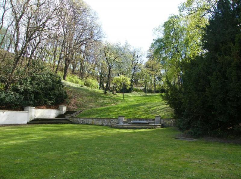 Парк на вилле Бертрамка