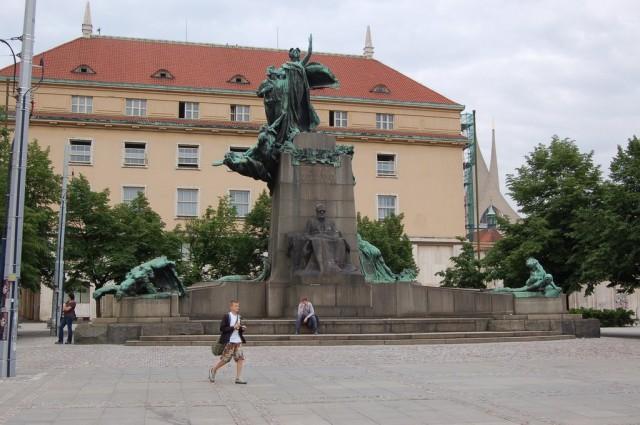 Памятник Франтишеку Палацкому (František Palacký)