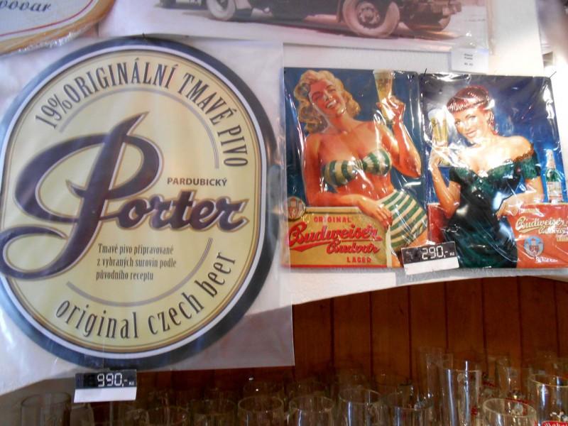 Пиво и пивная атрибутика в качестве сувенира