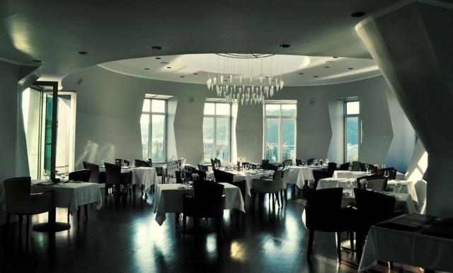 Ресторан в Танцующем доме (Tančící dům)