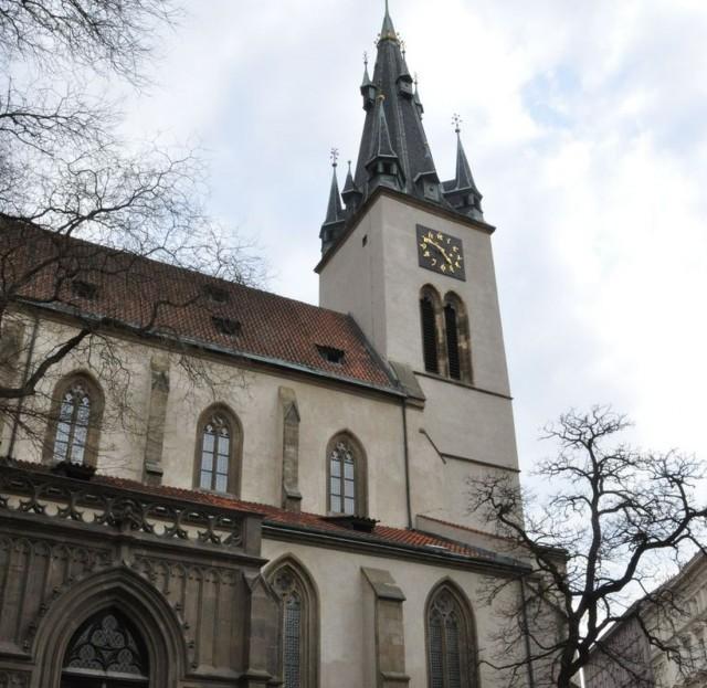 Церковь св. Штепана (Kostel svatého Štěpána)