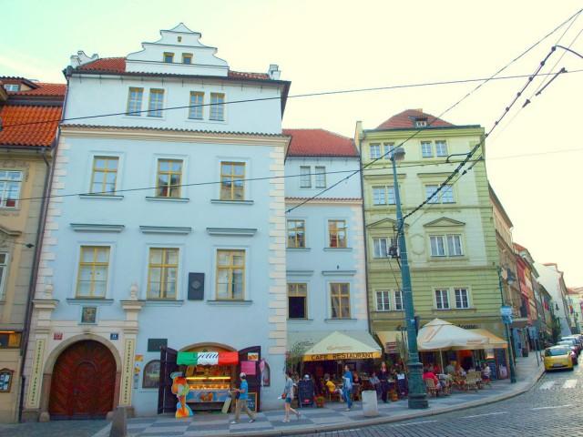 Вртбовский дворец (Vrtbovský palác)