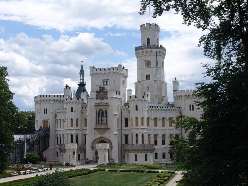 Замок Глубока над Влтавой (Zámek Hluboká nad Vltavou)