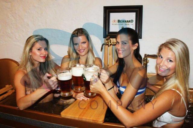 Пивные спа Бернард в центре Праги