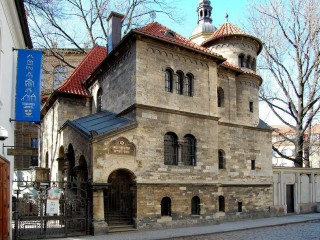 Зал прощания с усопшими у Старого еврейского кладбища