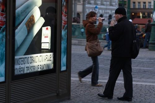Сигареты в Праге