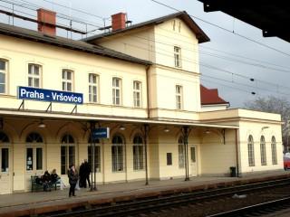 Железнодорожный вокзал Вршовице