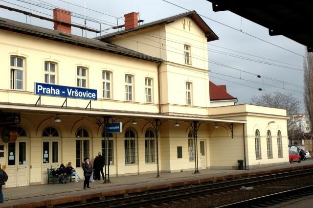 Железнодорожный вокзал Вршовице (Nádraží Praha-Vršovice)