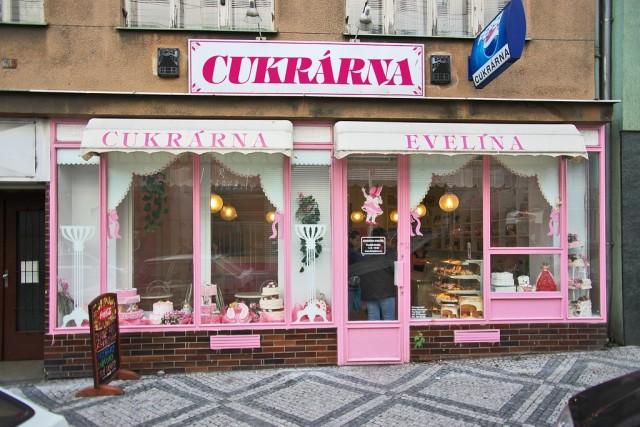 Булочная в Праге