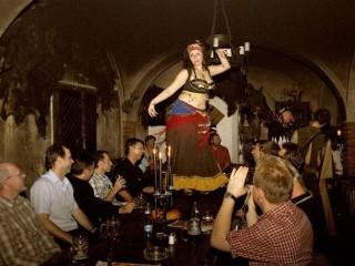 Новогоднее средневековое шоу в Детенице