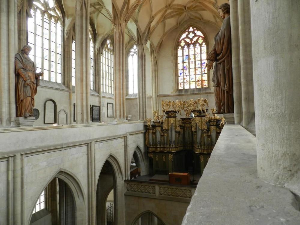 Храм святой Варвары в Кутна-Горе Собор Святого Вита Интерьер