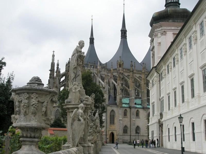 Собор Святой Варвары в Кутна-Горе