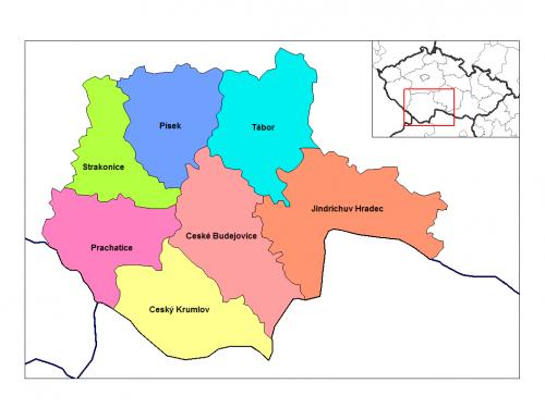 Южночешский край (Jihočeský kraj)
