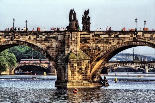 Карлов мост в Праге (Karlův most)