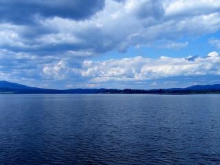 Район озера Липно в Чехии