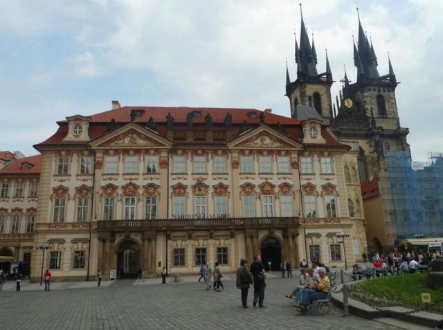 Дворец Кински (Kinsky Palace)