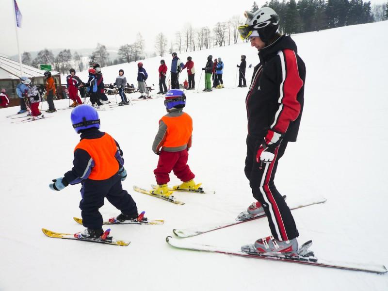 Детская школа горнолыжников