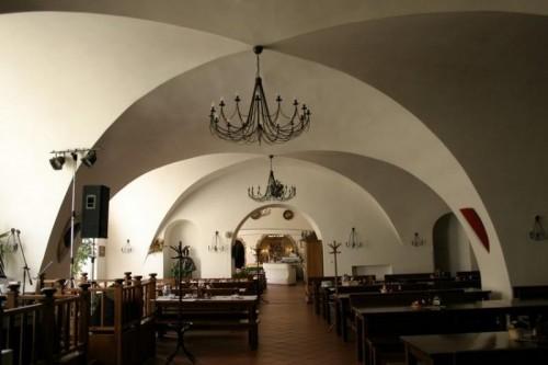 """""""Большой Монастырский ресторан"""" в Праге (Velká klášterní restaurace)"""