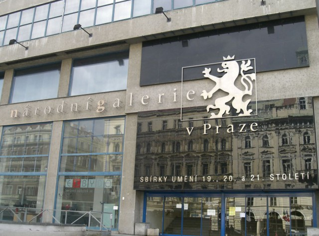 Национальная галерея в Праге (Národní Galerie V Praze)