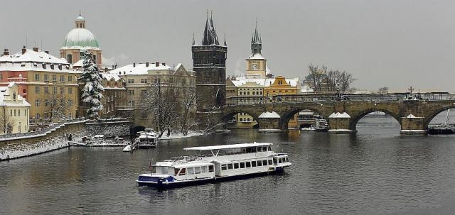 Новый год на теплоходе по реке Влтава