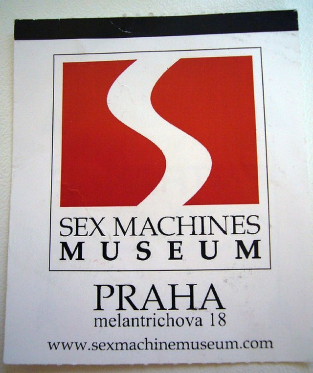 Музей секс машин в Праге (Sex Machines Museum)