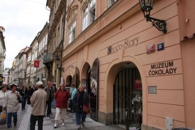 Музей шоколада (Muzeum čokolády)