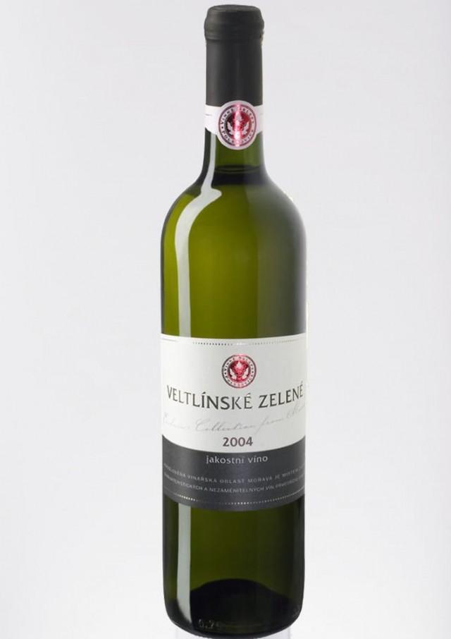 Вино «Veltlínské Zelené»