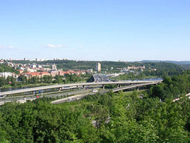 Баррандовский мост (Barrandovský most)